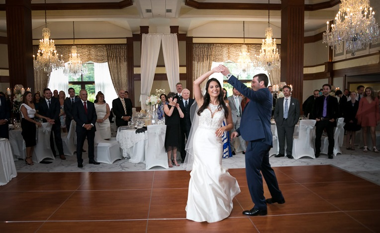 Nemacolin Woodlands Pittsburgh Wedding First Dance Reception Venue