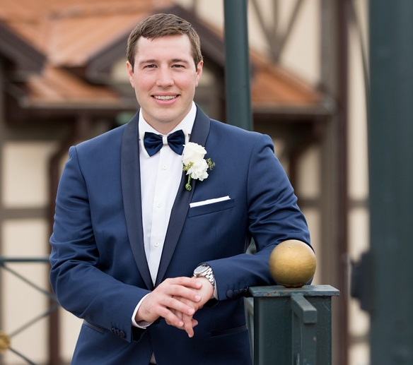 Nemacolin Woodlands Pittsburgh Wedding Formal Groom Pose