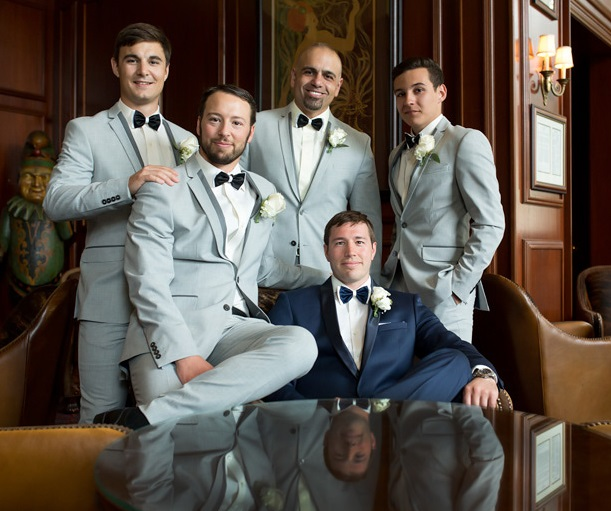 Nemacolin Woodlands Pittsburgh Wedding Formal Groomsmen