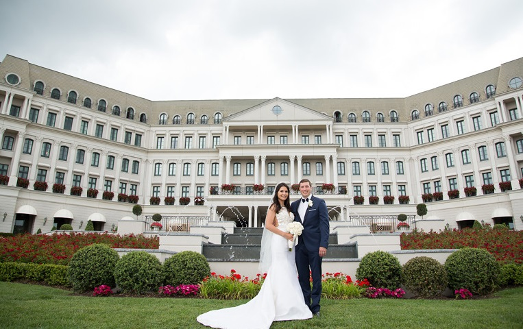 Nemacolin Woodlands Pittsburgh Wedding Bride and Groom Venue