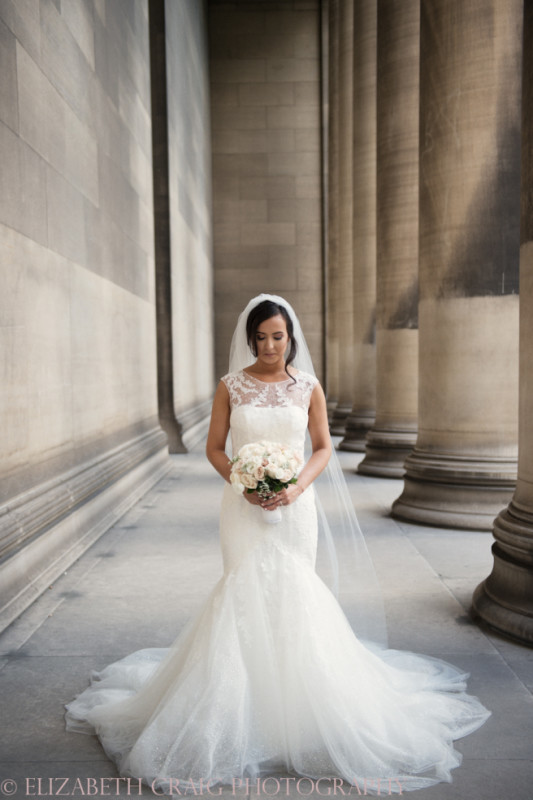 University Club Pittsburgh Wedding Bridal Gown