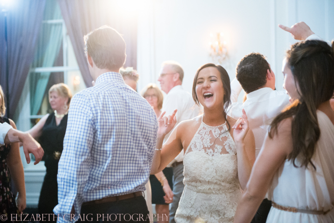 University Club Pittsburgh Wedding Having a Good Time