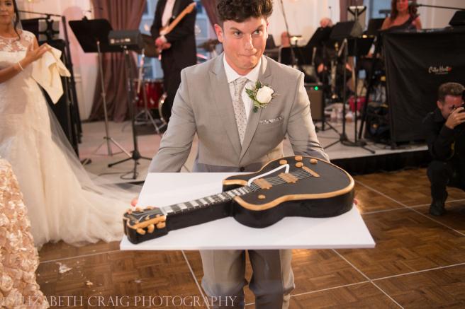 University Club Pittsburgh Wedding Grooms Cake