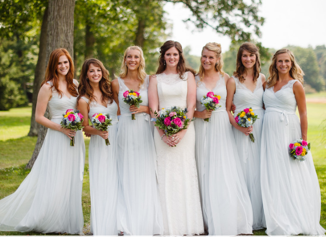 Seven Springs Pittsburgh Wedding Bridesmaids