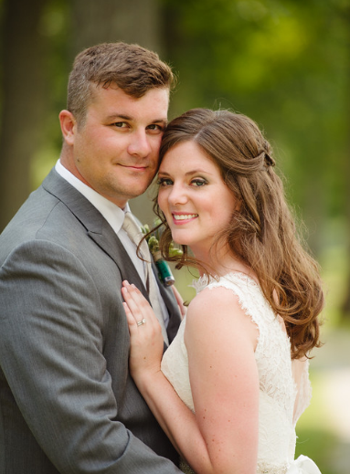 Seven Springs Pittsburgh Wedding Couple
