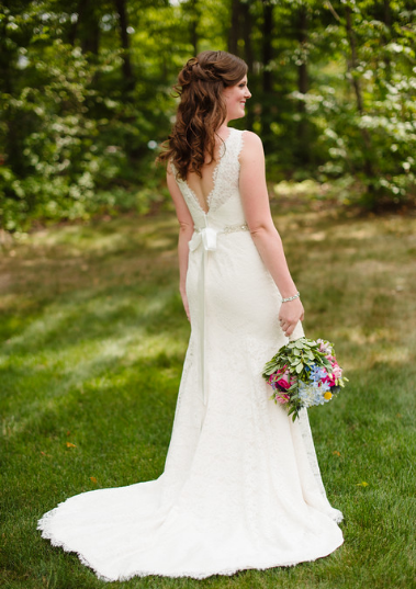 Seven Springs Pittsburgh Wedding Classic Bride