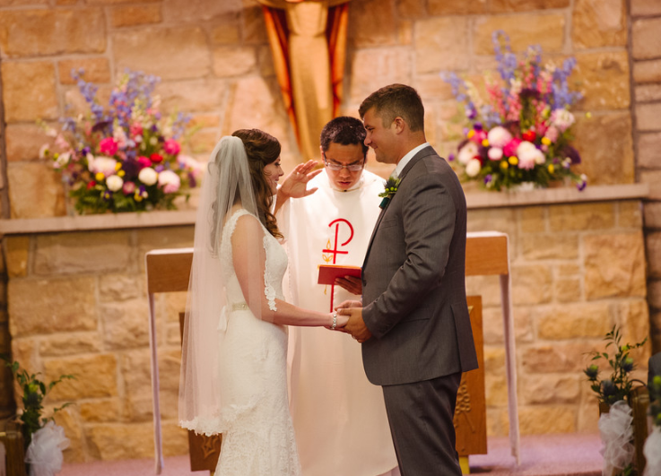 Seven Springs Pittsburgh Wedding Church Ceremony