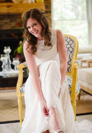 Seven Springs Pittsburgh Wedding Bridal Gown