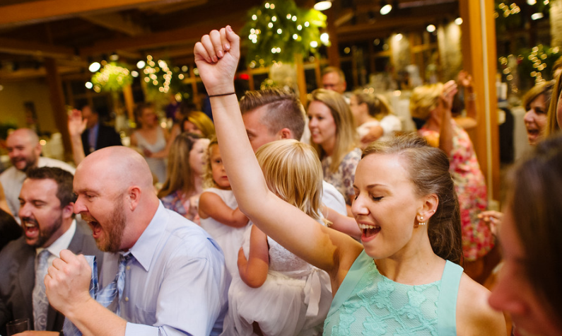 Seven Springs Pittsburgh Wedding Dancing Reception