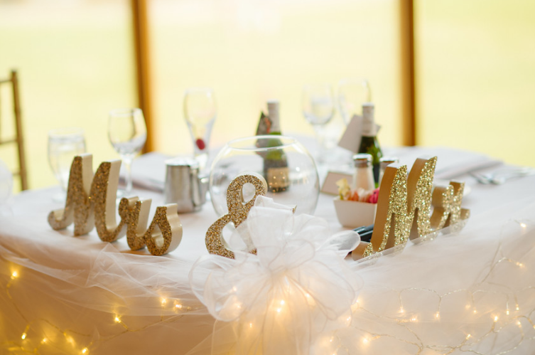 Seven Springs Pittsburgh Wedding Bride and Groom Table