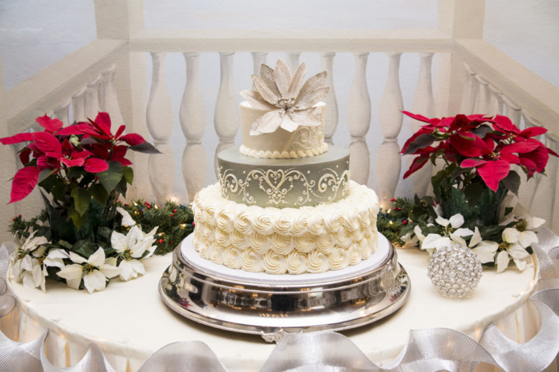 awesome Wedding Cake - Camelot Banquet Center Pittsburgh
