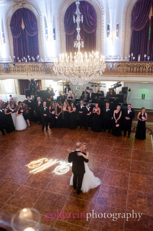 Bride & Groom Dance Omni William Penn John Parker Band