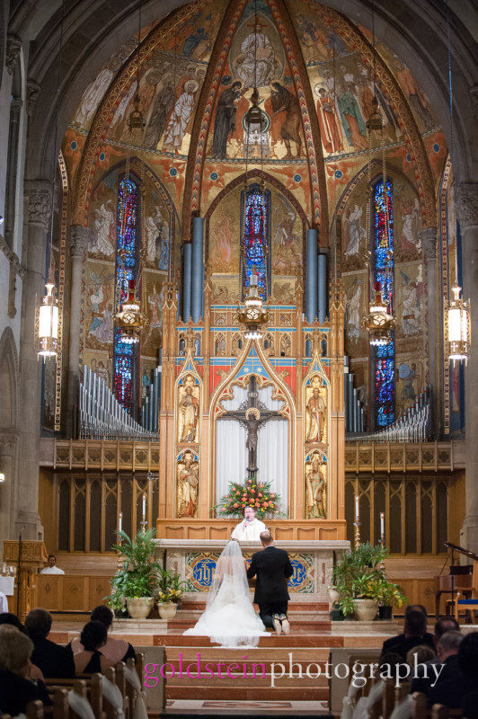 St Bernards Church Wedding Mass Pittsburgh PA