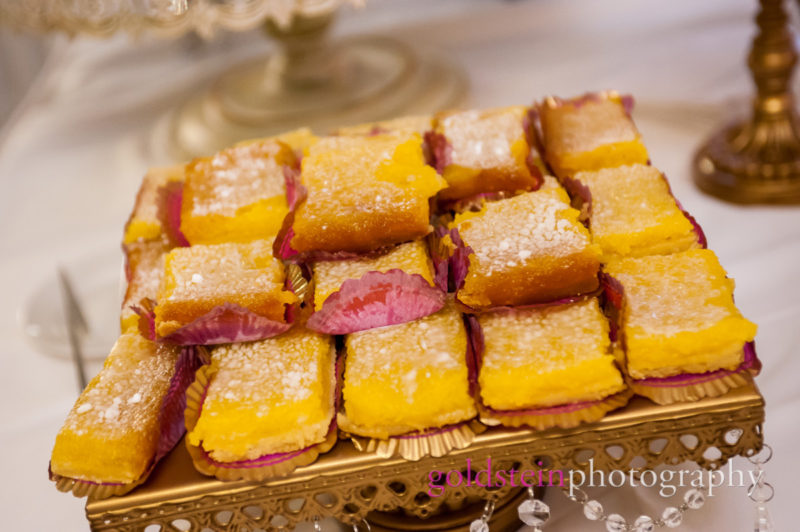 Wedding Lemon Bar Cookies William Penn Hotel Pgh JP Band