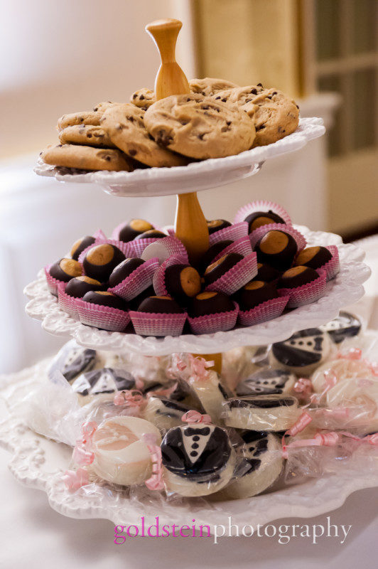 Wedding Dessert Tray Buckeyes Tuxedo Cookies William Penn Hotel