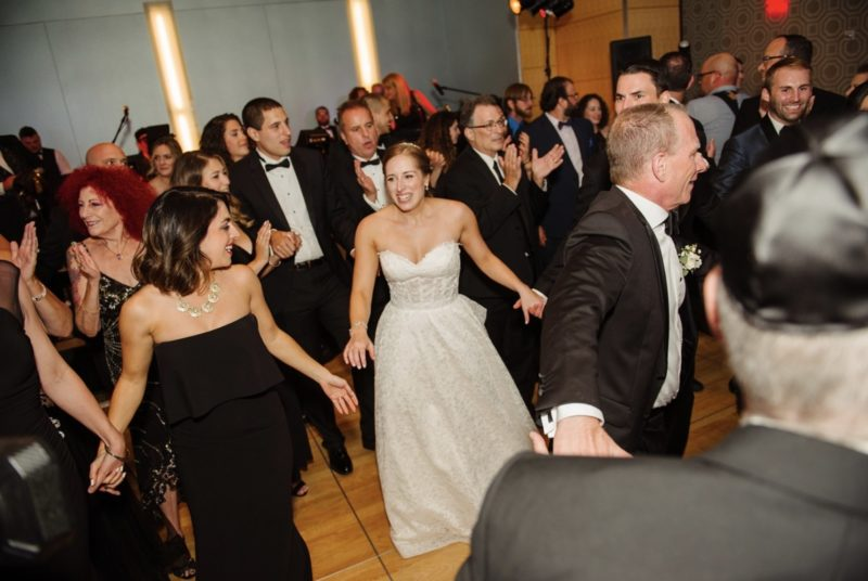 Fairmont Hotel Pittsburgh Wedding bride dancing