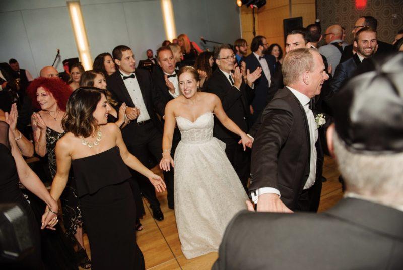 Fairmont Hotel Pittsburgh Wedding bride dancing